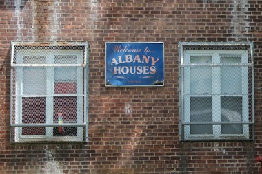 A man was shot and killed Wednesday outside of an Albany Houses building on St. Marks Avenue between Albany and Troy avenues, police said.
