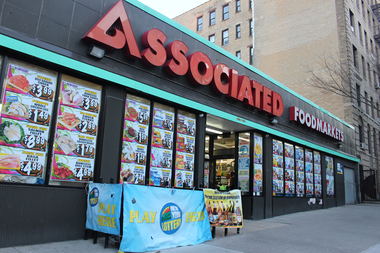 The owner of the Associated Supermarket said he's being forced out of the location in Fort Washington Avenue.