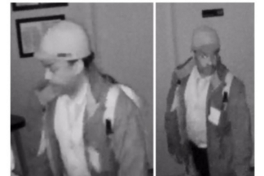 A man entered the New York Eye Cancer Center and stole two Apple computers and other equipment, according to police.