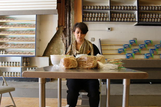 Jessica Olah is attempting to make as many sandwiches as her mother made over 13 years in only five days.