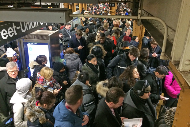 Subway delays have increased more than 237 percent since 2012 an Independent Budget Report found.