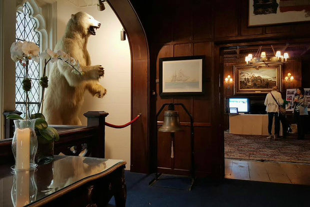 Atlas Obscura is hosting an all-nighter at the Explorer's Club, which has a slew of artifacts from expeditions dating back to the early 20th century.