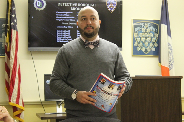 Rafael Salamanca will run for Maria del Carmen Arroyo's old council seat in the February special election.