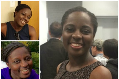 Sierra Shields, 30, was last seen leaving LaGuardia Airport on Jan. 14 wearing a navy blue dress, police said.