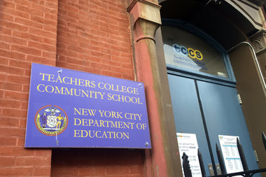 Parents of students at Teachers College Community School will be allowed to stay in their current building after the DOE scrapped its plan to co-locate.