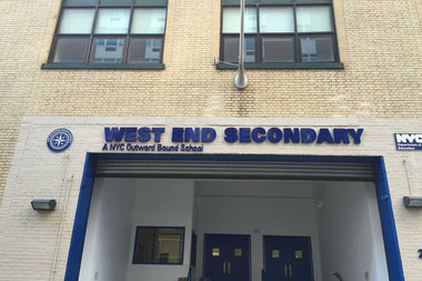 The city negotiated a new lease for West End Secondary School, the new school on West 61st Street and said construction will begin this summer under an emergency contract.