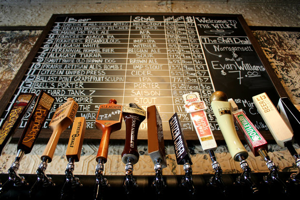 Craft beer bar The Wilky hosts its grand opening on Thursday at 108 Patchen Ave., with 18 brews on tap.