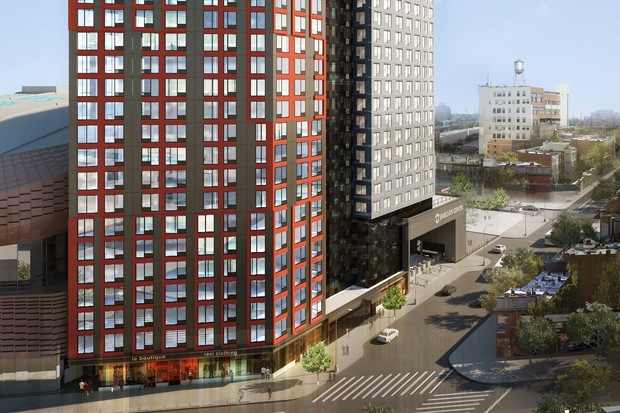 181 Affordable Units In Tower Next To Barclays Join Lottery March Prospect Heights New York Dnainfo