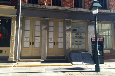 Artists Loft, a bar and gallery space at 181 Fulton Street, is set to open by May.