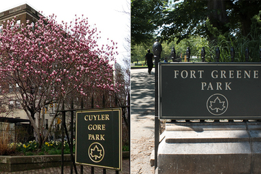 Local business leaders are asking the parks department for funding for two Fort Greene parks.
