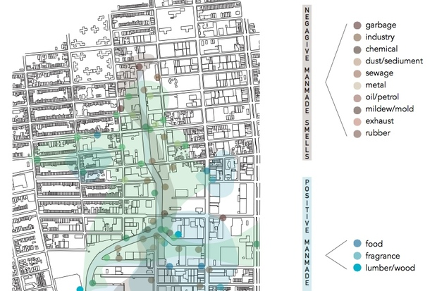Designers Create Odor-Filled Map of Gow Smells - Gow - New ... on