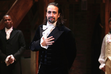 The cast of Hamilton teamed up with the Gun Hill Brewing Company of the Bronx to make a limited run beer, Rise Up Rye, to raise money for charity./p>