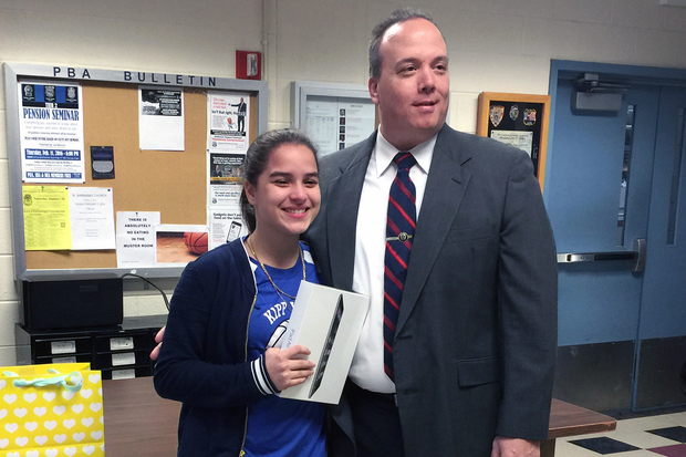 12-Year-Old Girl Gets New \'Christmas Gift\' from Local Precinct ...