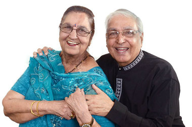 Seniors at India Home in Queens are featured in the Department for the Aging's