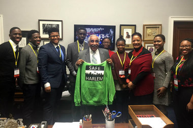 Two groups of students who produced a PSA warning about the dangers of synthetic marijuana were rewarded with a visit to our nation's capital.