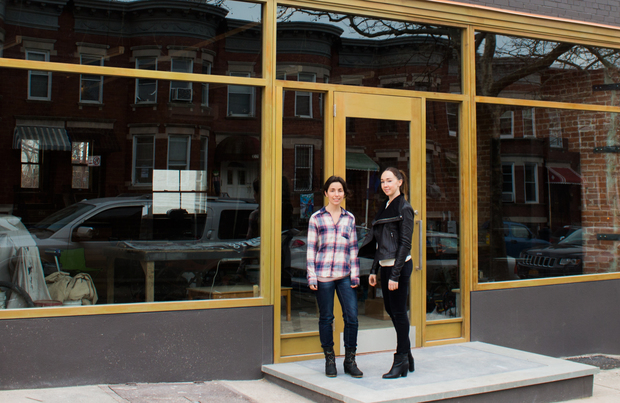 Teresa Lagerman and Abby Palanca are opening Founders Workspace, a co-working spot and events space, at 553 Prospect Ave. in April.