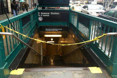 The unidentified man was fatally struck in the Third Avenue station, officials said.