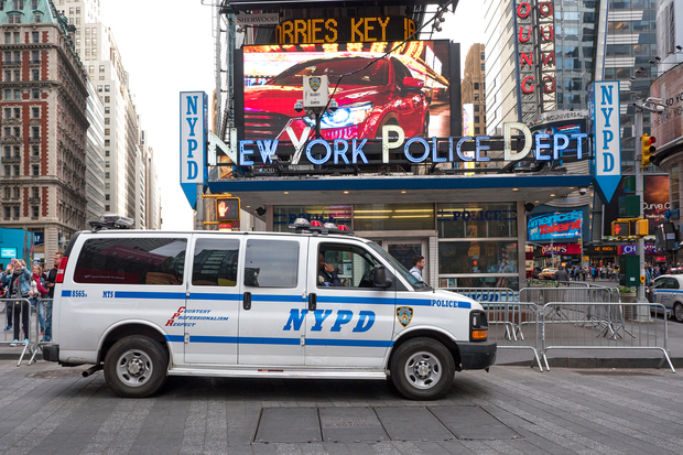 Times Square Nypd Station To Get 3 5 Revamp Police Say