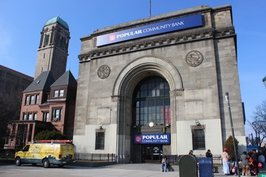 The Landmarks Preservation Commission just designated the former East New York Savings Bank at the corner of Eastern Parkway and Utica Avenue  in Crown Heights a city landmark.