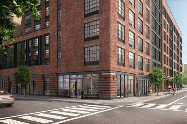 A housing lottery opened recently  for 97 below-market units in 33 Eagle St. in Greenpoint. Under zoning changes, the city would require any new buildings in
