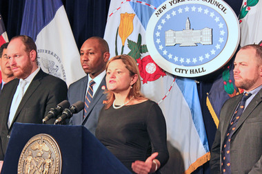 Council Speaker Melissa Mark-Viverito explains why the Council is passing the mayor's rezoning, ahead of their full vote on March 22, 2016.