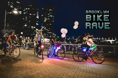 Registration is now open for a Bike Rave, a 7.5 mile nighttime bike ride along the waterfront on May 14.