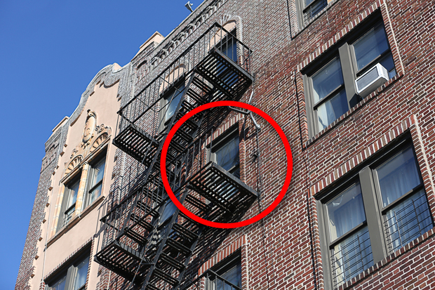 fire escapes new york city images