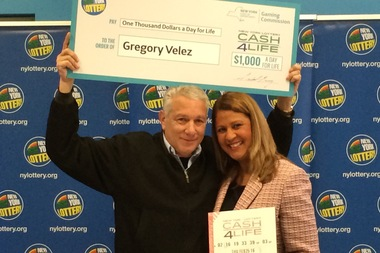 Gregory Velez bought his ticket on South End Ave. and won more than $4 million.