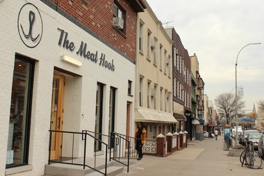 The Meat Hook opened on the corner of Graham and Jackson in late February.