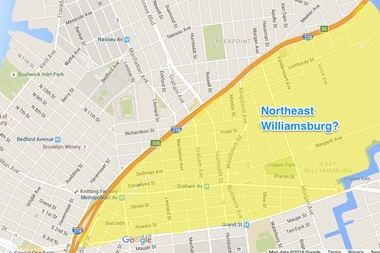 Do you think Northeast Williamsburg is a real place?
