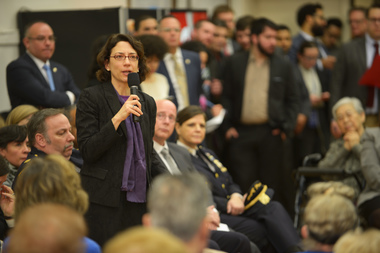 Department of Transportation Commissioner Polly Trottenberg.