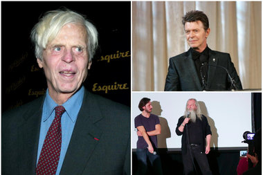 Literary journalist George Plimpton, pop star David Bowie and career prankster Joey Skaggs have all set up hoaxes that fooled the media and the masses.