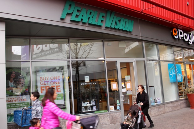 Pearle Vision, located within the Rego Center Mall at 61-35 Junction Blvd., closed several weeks ago.