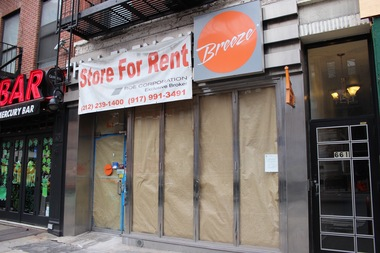 Samba will take the place of shuttered Thai-French fusion restaurant Breeze at 661 Ninth Ave.