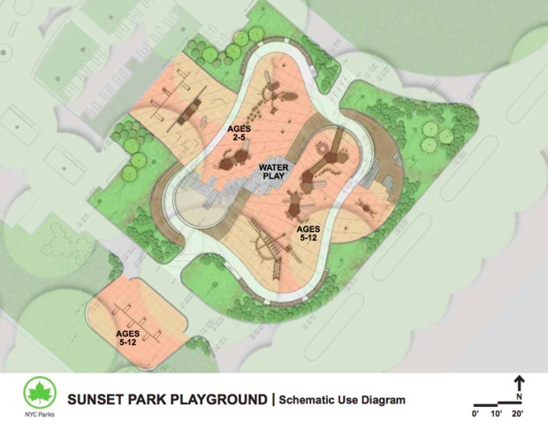 Sunset Park Playground Reconstruction To Begin April 4