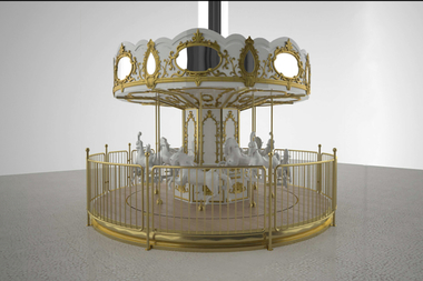 The carousel that Sugar Factory planned to erect outside its new Upper West Side location may not come to fruition.