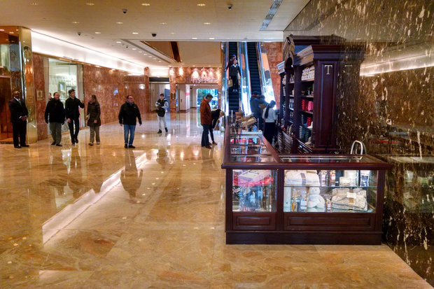 Trump Tower Continues To Use Illegal Kiosks Despite