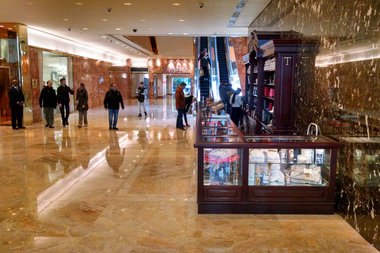 Trump Tower Continues to Use Illegal Kiosks Despite Warning From