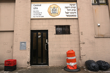 FBI agents previously raided the UTA Central Yeshiva at 76 Rutledge St. in March 2016.
