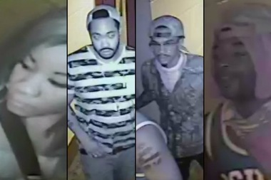 The NYPD is looking to identify these four people in regards to the Sept. 7 shooting that fatally wounded 43-year-old Carey Gabay in Crown Heights.