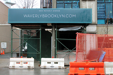 Waverly Brooklyn has topped out at seven stories, reports say.