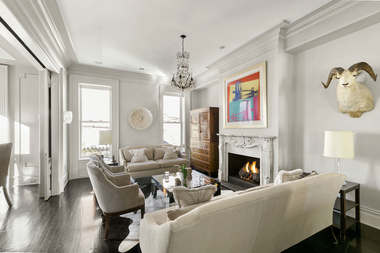This luxurious four-bedroom condo at 229 Degraw St. is listed at $4.295 million, according to the Corcoran listing.