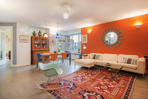 Three three-bedroom co-ops with open houses this weekend.