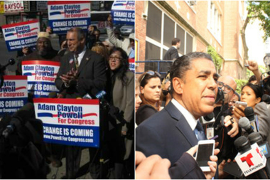 State Sen. Adriano Espaillat and Adam Clayton Powell said they will return donations their campaign received from businessmen embroiled in a federal investigation that's rocked the NYPD and City Hall.
