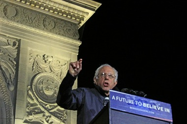 Bernie Sanders will deliver the commencement address at Brooklyn College's spring graduation.
