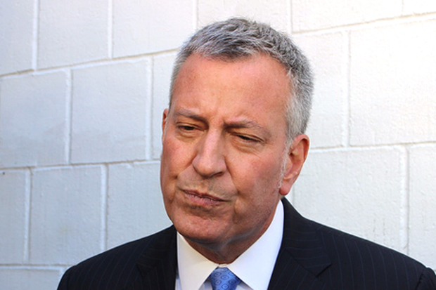 Mayor Bill de Blasio said he's going to have to raise the money to pay the lawyers representing him in various federal and state probes around his fundraising efforts.