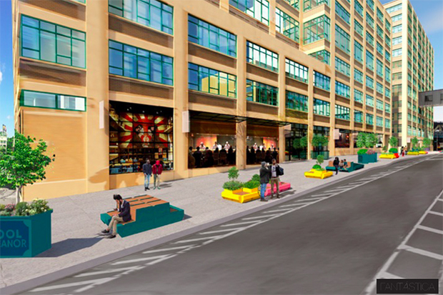 New wooden benches could be coming to dumbo sidewalk by for 70 park terrace east new york ny
