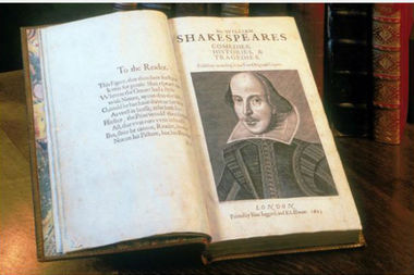 The FIrst Folio was published in 1623 to teach future generations about Shakespeare's plays.