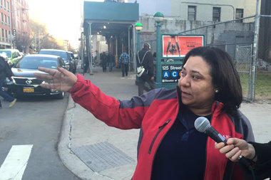 Elsia Vasquez, a tenant advocate, helps renters organize associations so they can fight for repairs.