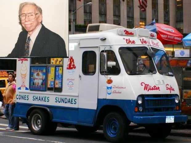 A Philadelphia native, Les Waas wrote the jingle for the song we've all heard coming from the Mister Softee ice cream trucks.